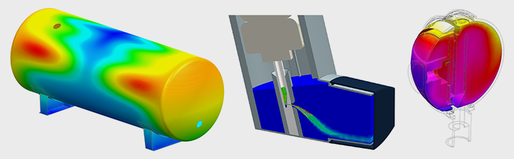banner FEA analysis, CDF, CAD and CAE consultancy with Ansys Mechanical, Fluent en CFX